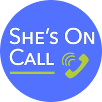 she's on call logo