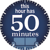 this hour has 50 minutes logo