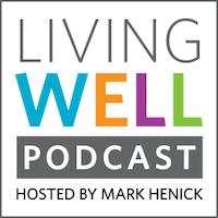Living Well Podcast logo
